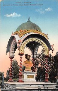 Italy Firenze Cascine Monumento al Principe Indiano Rejatam Maharaj Kolhapur