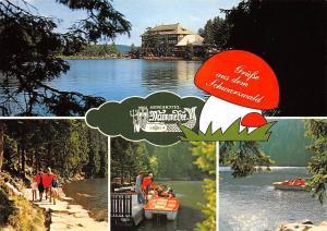 Gruesse aus dem Schwarzwald Mummelsee Berghotel Pension Lake Promenade