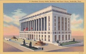 Davidson County Public Building And Court House Nashville Tennessee