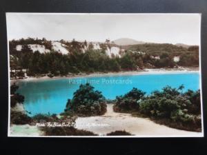 Dorset: The Blue Pool, Furzbrook, Wareham - Old RP Postcard