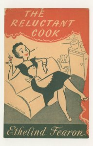 The Reluctant Cook Ethelind Fearon 1953 Book Postcard