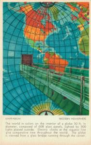 USA Mapparium Western Hemsphere 01.64