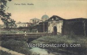 Philippines, Pilipinas Parian Gate Manila Parian Gate