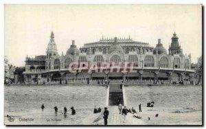 Old Postcard Ostend Kursaal
