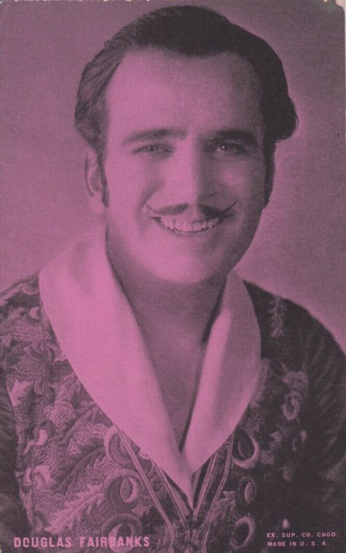 Actor DOUGLAS FAIRBANKS, 1920-30s