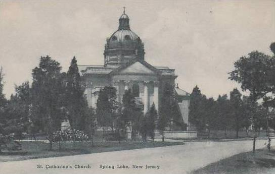 New Jersey Spring Lake St Catharines Church Albertype
