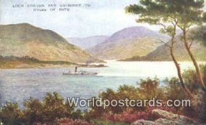 Loch Striven Kyles of Bute UK, England, Great Britain 1932