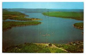 1971 Deep Creek Lake, Garrett County, MD Postcard *5F27