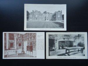 Suffolk Ipswich 3 x CHRISTCHURCH MANSION - Old Postcards