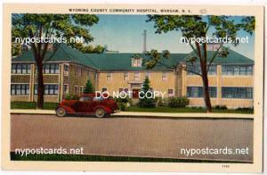 Wyoming Co Hospital, Warsaw NY