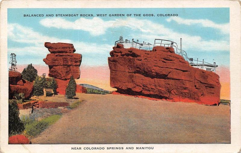 Colorado Balanced and Steamboat Rocks, West Garden of the Gods