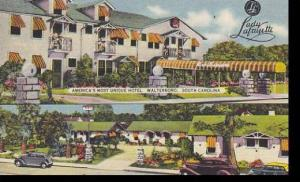 South Carolina Walterboro Lady Lafayette Hotel & Tourist Cottages
