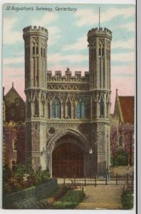 Kent; St Augustine's Gateway, Canterbury PPC By HJ Goulden, Unused, c 1910's