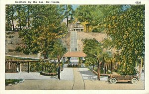 Automobile Capitola by the Sea California 1920s Postcard Pacific Novelty 20-3162