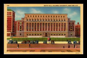 COLUMBIA UNIVERSITY SOUTH HALL NEW YORK CITY