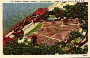 North Carolina Roanoke Island Waterside Theatre Curteich