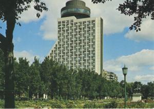 Loews Le Concorde Hotel Quebec City QC Que Vintage Postcard D22