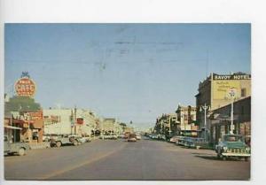 Price UT Pepsi Trucks Street Vue Old Cars Postcard