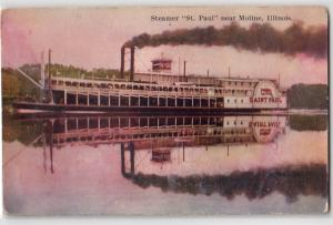 Steamer St Paul, Moline IL