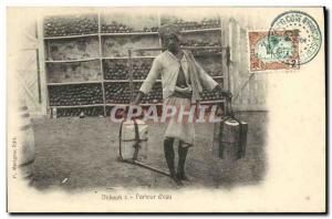 Old Postcard Djibouti Somalis Water Bearer TOP