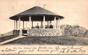 Connecticut Meriden Hubbard Park Fair View 1905
