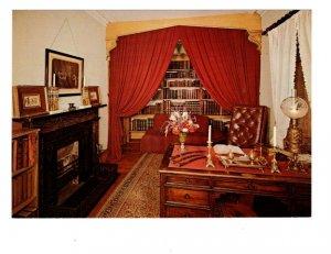 Washington Irving's Study, Interior, Sunnyside, Tarrytown, New York,