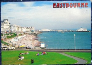 England Eastbourne from the Wish Tower - posted 1998