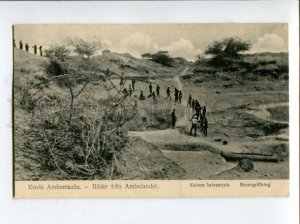 401058 NAMIBIA Amboland well digging 1922 year finnish RPPC