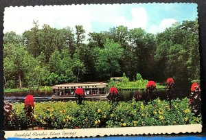 Florida Silver Springs Glass Bottom Boats Vintage Postcard