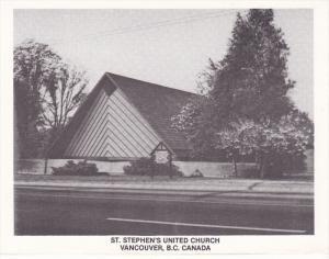 St. Stephen's United Church, Vancouver, British Columbia, Canada, 1920-1940s