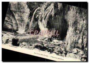 Old Postcard Le Saut du Loup Filtration petrifying