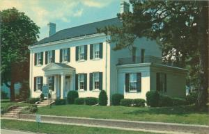 Clinton County Historical Society and Museum Wilmington, Ohio Vintage Postcard