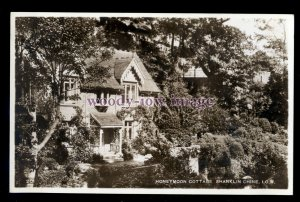 h2176 - Isle of Wight - Honeymoon Cottage & Garden at Shanklin Chine - postcard
