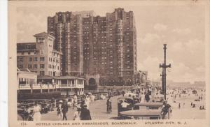 ATLANTIC CITY, New Jersey, 1900-1910´s; Hotels Chelsea And Ambassador, Board...