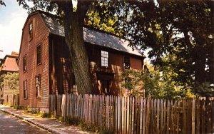 The Hawthorne House Salem, Massachusetts Postcard