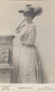 Actress, MAXINE ELLIOT, PU-1906