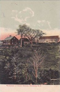 New Hampshire Saulsbury Birthplace Of Daniel Webster