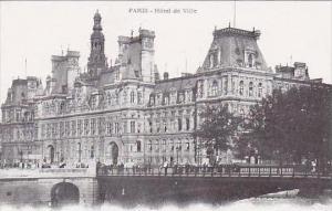 France Paris Hotel de Ville