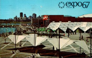 Montreal Expo67 General View On Ile Sainte-Helene 1967
