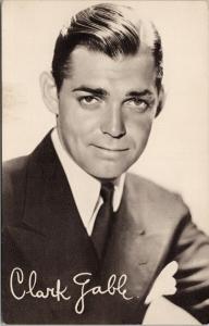 Clark Gable Film Star Actor Unused Photogravure Postcard F10