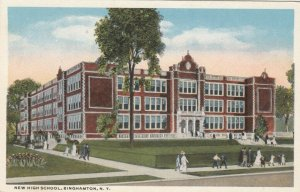BINGHAMTON , New York , 1900-10s; High School