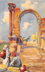 Italy Scavi Di Leptis Magna  Scavi Di Leptis Magna