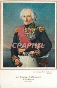 Postcard Old Count Willaumez Vice Admiral (1763 1845)