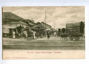 227102 CEYLON COLOMBO Cross Street Pettah Vintage Sadoon #39