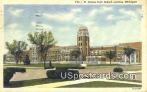 JW Sexton High School Lansing MI 1948