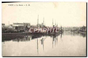Old Postcard Caen Yacht Basin