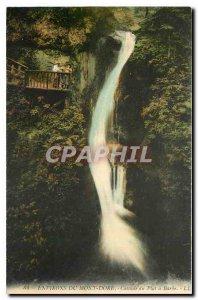Old Postcard Surroundings Mont Dore Plat Beard Cascade