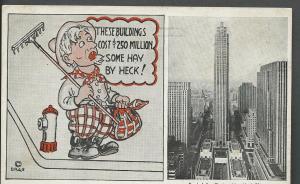 Rockefeller Center Komic View Post Card #5
