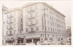 Oregon Roseburg Umpqua Hotel 1952 Real Photo sk649