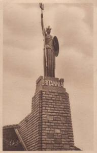 Rule Britannia George VI French War Monument Boulogne Sur Mer Antique Postcard